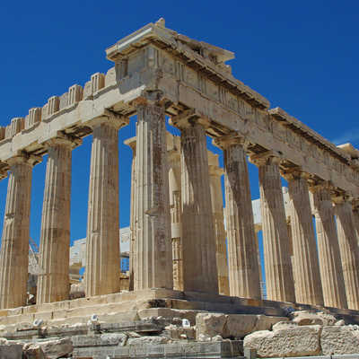 Ancient ruins of Athens, Greece