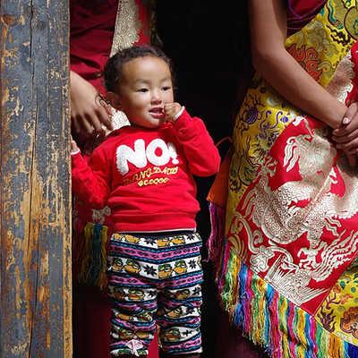 Young girl, Bhutan