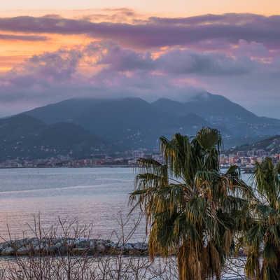 View from hotel balcony, Sestri Levante