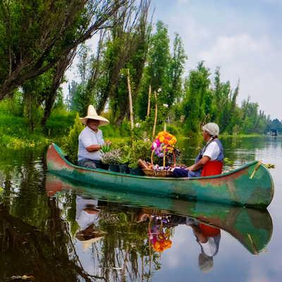 Xochimilco Canals