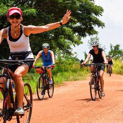 Cycling around Dambulla, Sri Lanka