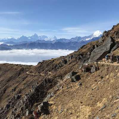 Trail to Gosainkund Lake, Nepal