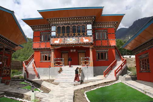 Typical Bhutanese Hotel