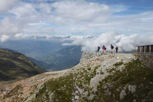 Brevent summit