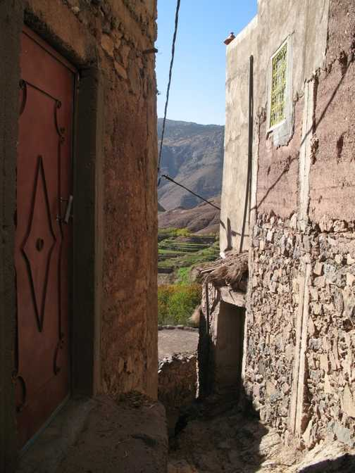 In the mountain village