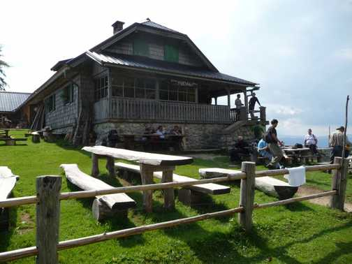 Day 1 - Planina Preval (1311m) - Refreshment Stop