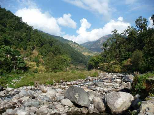 Burung Khola river