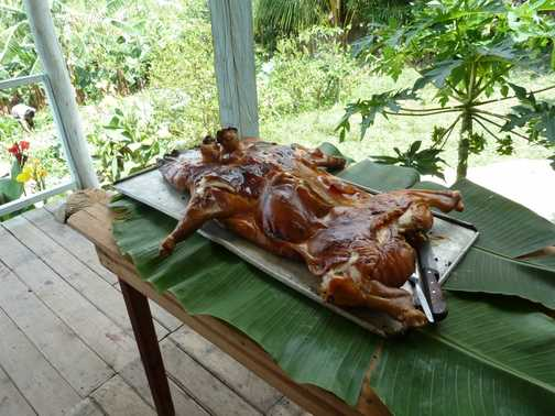 Lunch in Vinales