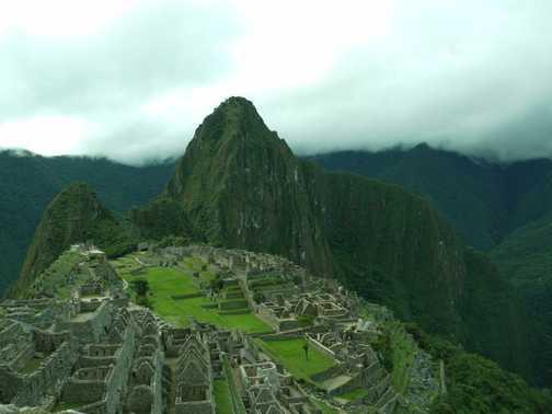 Dusk Machu Picchu