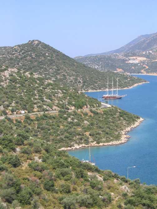 Lycian coastline
