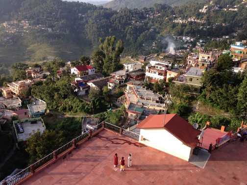 Almora: view from hotel