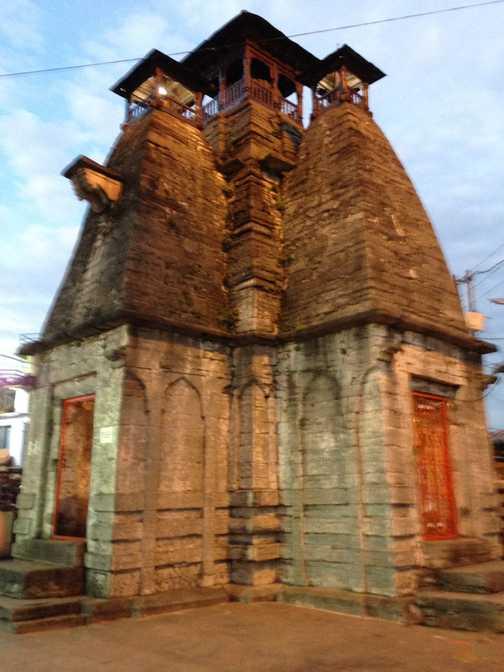 Nanda Devi East departure
