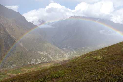 En route Pachu Glacier