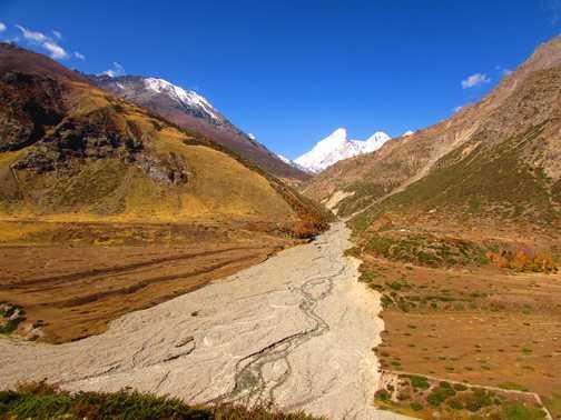 Trek to Milam Glacier