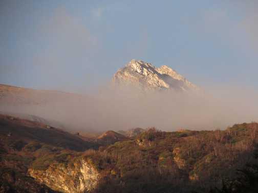 View out Nanda Devi Base camp
