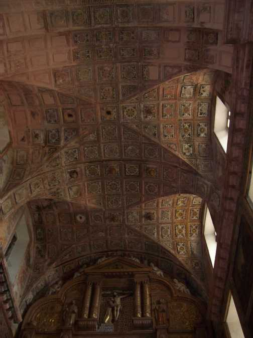 Ceiling in the Church of St Francis of Assisi, Old Goa