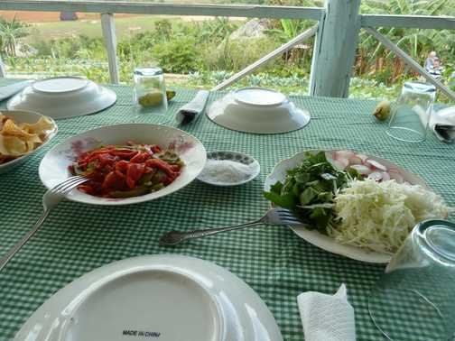 Lunch with a Vinales view