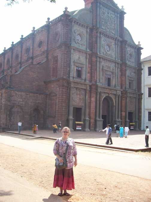 Basilica of Bom Jesus, Old Goa