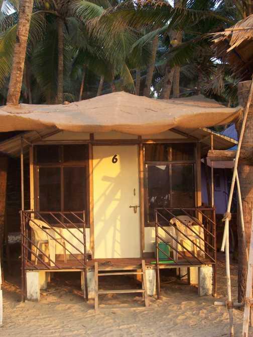 My little beach hut, Palolem Beach