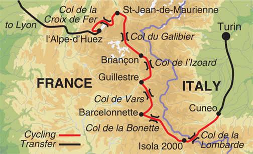MWU map