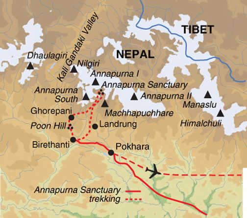TNS Trip Map