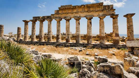 Temple at Selinunte, Sicily