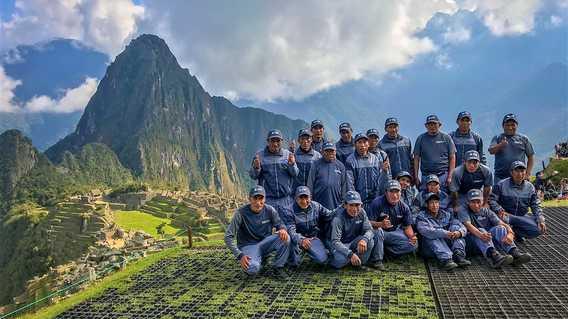 Exodus Porters at Machu Picchu