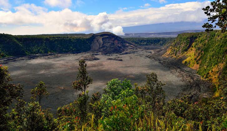 Iki crater, Kilauea Volcano