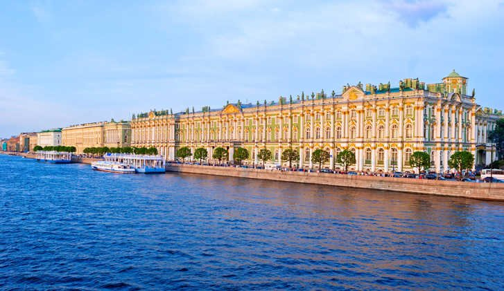 Hermitage Museum in Winter Palace