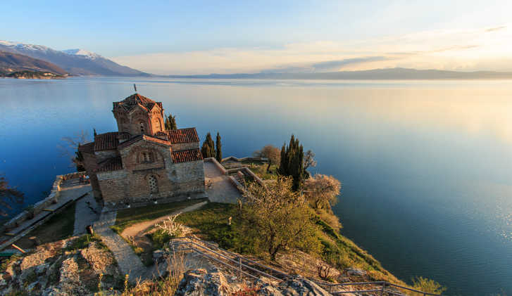 Sveti Jovan Kaneo Church, Lake Ohrid