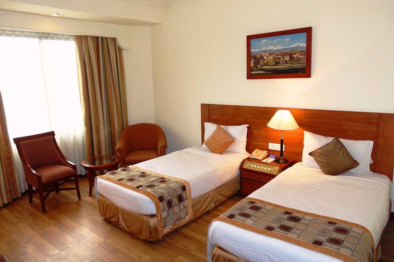 TWIN ROOM KATHMANDU HOTEL ROYAL SINGI NEPAL